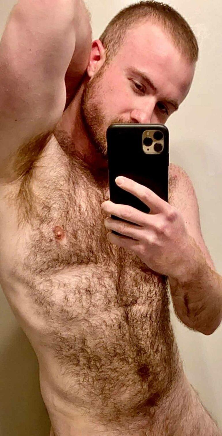 gay à poil